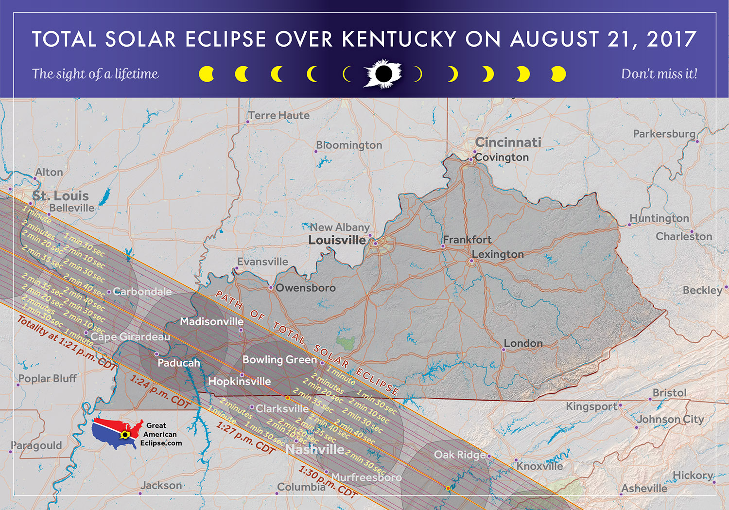 Worksheet. 2017 Total Solar Eclipse in Kentucky