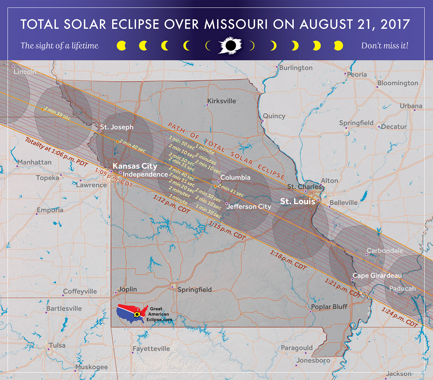 2017 total solar eclipse in missouri sciox Image collections